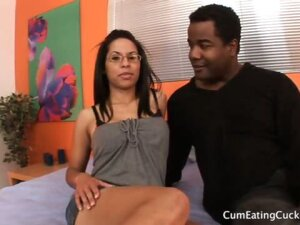 Serena's Husband Watches As She Gets Fucked By Black Cock