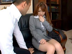 Riona Minami gets unforgettably fucked in her office