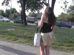 Voyeur loves public upskirt videos