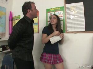 Slutty Student Fucking Both Teachers