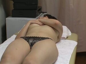 A fresh Asian chick gets some doggy-style massage