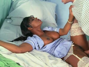 Danny D is impaling sensual chocolate nurse Jasmine Webb