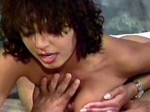 Vintage tape of a slut getting cum on her tits after banging