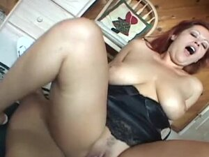 Hot redhead Mexican babe gives titjob and gets fucked in POV