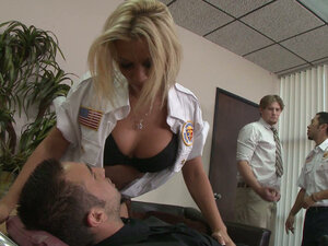 Police officer Rachel Starr applies nontraditional methods of torturing
