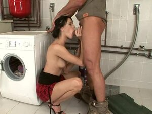 Rough Sex With The Hot Liz And A Big Cock