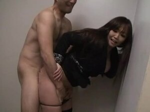 Chubby Asian milf gets unforgettably fucked in a jail