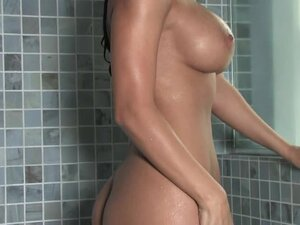 Raquel Reese is all wet and sexcited in the shower