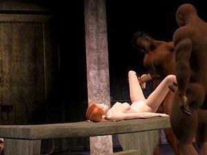 3D Animated Interracial Cuckold