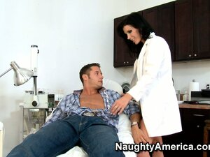 Doctor Shay Sights examines her patient and becomes unprofessional