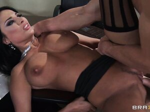 The new CEO likes what he sees with sexy secretary Anissa Kate