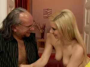 Old perv Gives Blondie A Creampie