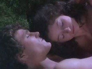 Sexy Brunette Cheri Lunghi Sleeping Naked In The Woods