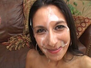 Nikki Daniels gets nailed and begs for a face full of man milk