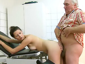 Doctor gets naughty with patient