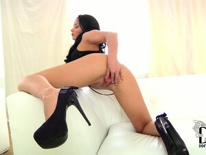 Sultry gothic bitch orders you to fuck her hard in the asshole