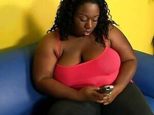 Hot fitness for one very big and fat ebony wife