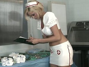 Young blonde nurse gets fucked