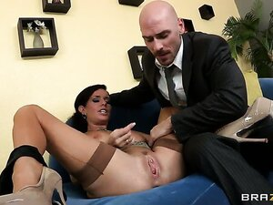 Johnny comes home one day from work to his lovely wife Veronica and shes got some news for him. Shes not cheating on him, but finds out that she can squirt!