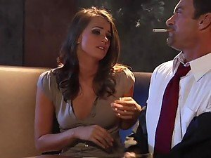 Gorgeous and Lustful Babe Tori Black Riding and Sucking Cock