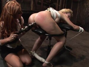 Nasty gangbang action in hard BDSM style