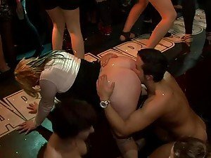 Wild Party Sex With Horny Babes And Their Wet Pussies