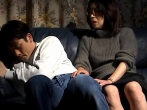 Japanese wife Makiko Miyashita gets fucked in missionary position