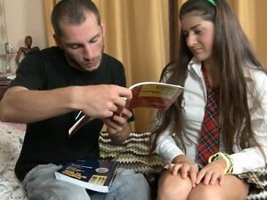 Russian couple penetrate after school