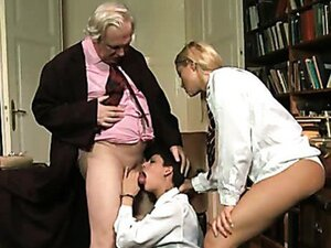 Old dean fucks two delicious students Cherry Kiss and Coco de Mal