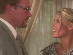 Amazing blonde housewife Charisma Cappelli gets horny