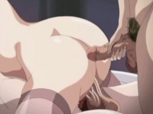 Big titted hentai slut gets all her holes filled