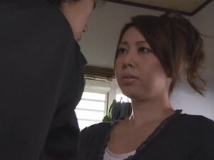 Beautiful Yumi Kazama Sucking Cock and Getting Fucked in the Kitchen