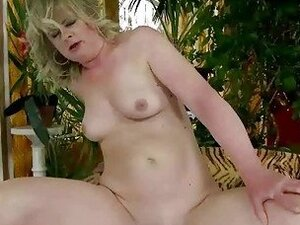 Grandma gets fucked hard by young guy