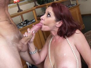 Pompous redhead MILF ass fucked nonstop