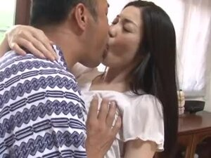 Cute little Asian lass gets licked and fucked by her man