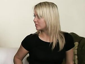 Her first double penetration goes just like she wanted