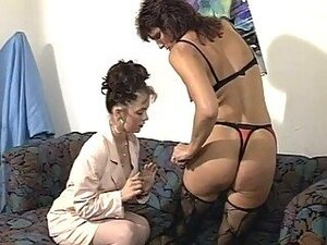 Mature Lesbians Plays With Huge