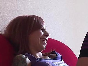 A Dirty Talk With The hot Redhead Scarlett Pain
