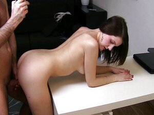 First time creampie for student
