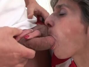 Ugly mature with hairy box fucked hard