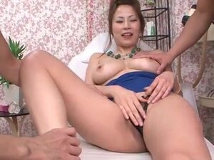 Big boobs girl blows him in the massage room