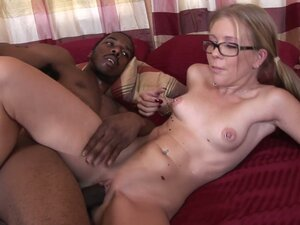 Horny book warm Tabitha James gets fucked brutally by a black stud