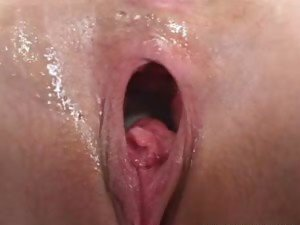 Petite Blonde Opens Wide for a Big Cock
