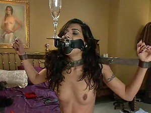 Sexy Sex Slave Takes Some Rough Tortures