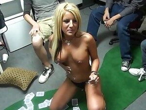Hot stripper visits dorm room party orgy