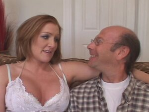 Redheaded Fire Crotch Wife Fucks New Guy