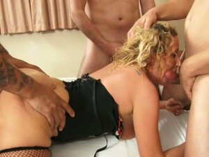 Home made gangbang with savannah stern