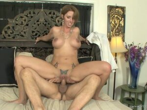 Destiny Porter bounces her hot pussy on a huge dick