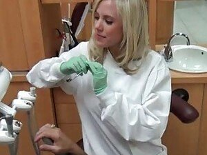 Dick Loving Dentist Britney Beth Gives A Sucking