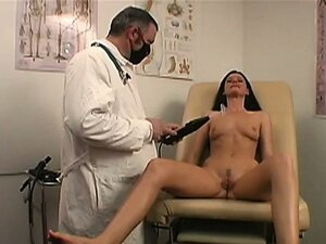 What's a lady to do when her husband can't give her what she wants? Make a doctor's appointment of course. India is looking to get fucked hard and the doc has the toys to make her open wide and say harder. Watch these wild machines make India realize her